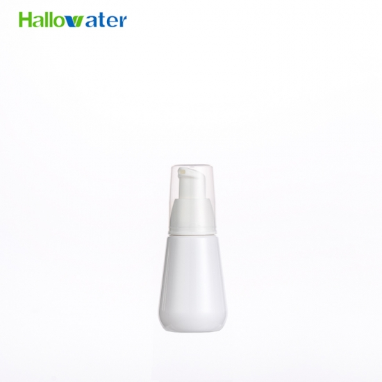 80ml 30mm Cone Shape plastic travel size cosmetic foam pump bottle