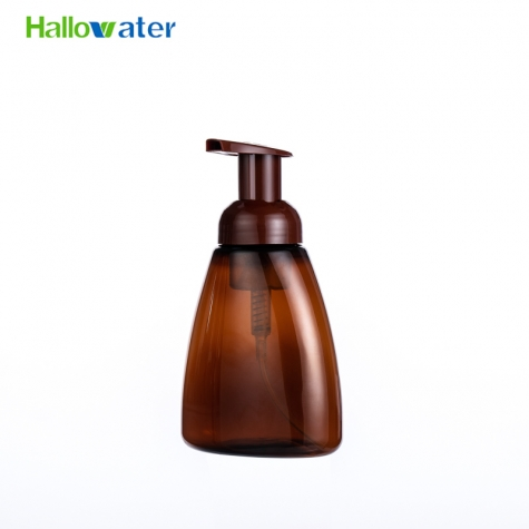 plastic foamer pump bottle